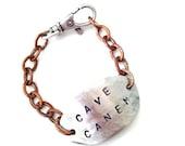 Men's Custom ID Bracelet FREE SHIP