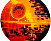 Vinyl record Death Star (Orange)