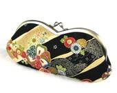Sunglass Eyeglass Case - Japanese Flower Stream Last one