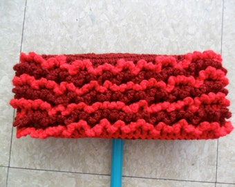 One Crimson and Bright Red 2-Sided Reusable Swiffer Cloth - The Bright Colorful Ecofriendly Pet Safe Way to Clean