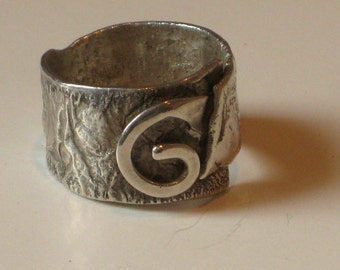 Sterling Silver Journey Ring Man Woman