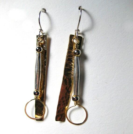 Brassy Babe Earrings