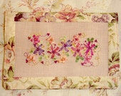 Silk Ribbon Embroidery Needlebook PDF Pattern