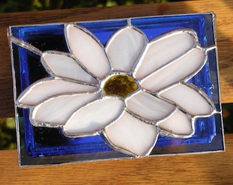 Stained Glass Daisy Box - Original Design