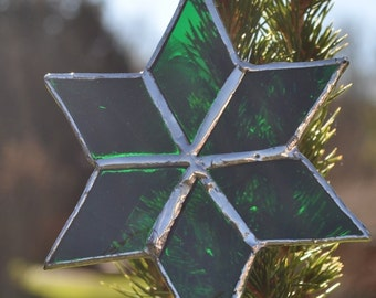 star ornament (green) christmas