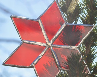 star ornament (red) christmas