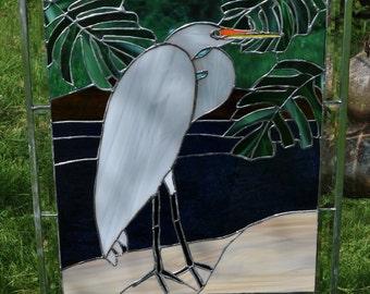 Great Egret panel