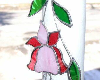 fuchsia suncatcher