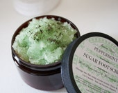 Peppermint Sugar Foot Scrub