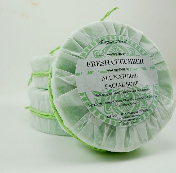 Fresh Cucumber Face Soap - Unscented