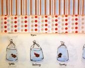 Freespirit Heather Ross Lightning Bugs Fishy Goldfish Fabric coordinates - 1/2 yard each-OOP