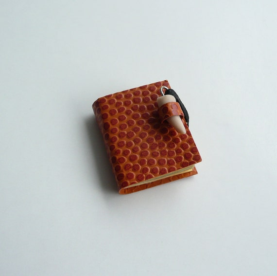 Miniature Dollhouse Dragon Skin and Claw Book - Witch Wizard Fairy
