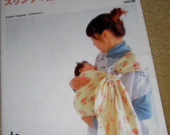 RESERVED FOR YCNEEDLE Japanese Pattern Book Baby Slings and Carriers out of print
