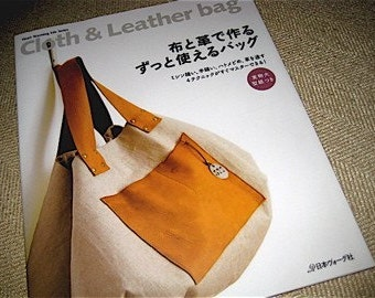Japanese Craft Pattern Book Cloth and Leather Bags Totes
