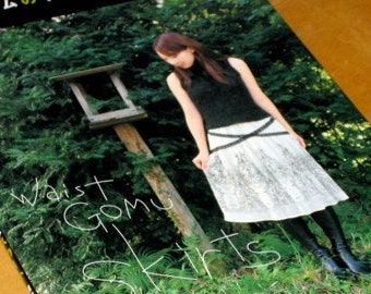 Japanese Pattern Book  Sewing Skirts with Elastic Band Waists