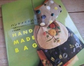 Japanese Craft  Pattern Book HANDMADE BAGS Needlework Time