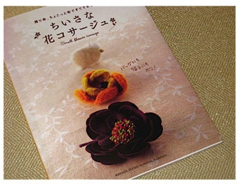Japanese Craft Pattern Book Small Flower Corsages
