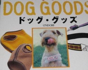 Japanese Pattern Book Handmade Dog Goods