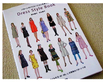 Japanese Craft Pattern Book Dress Style Book