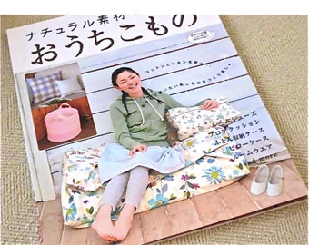 Japanese  Craft  Book Sewing Clothes and Home Zakka Bags and more