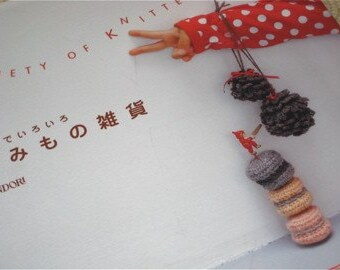 Japanese Craft Pattern Book Variety of Knit and Crochet Goods