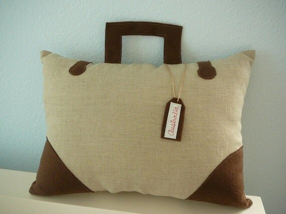 Take Me Anywhere - Suitcase Pillow - number 43