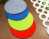 Wool Felt Mouse Pad / Trivet
