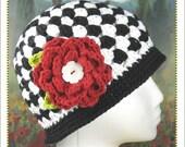 Cloche Hat Crochet Pattern - Chloe