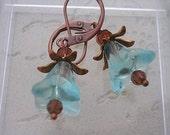 Ice Flower earings