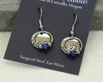 Nice silver earrings