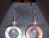 Pearls in the Ring earrings