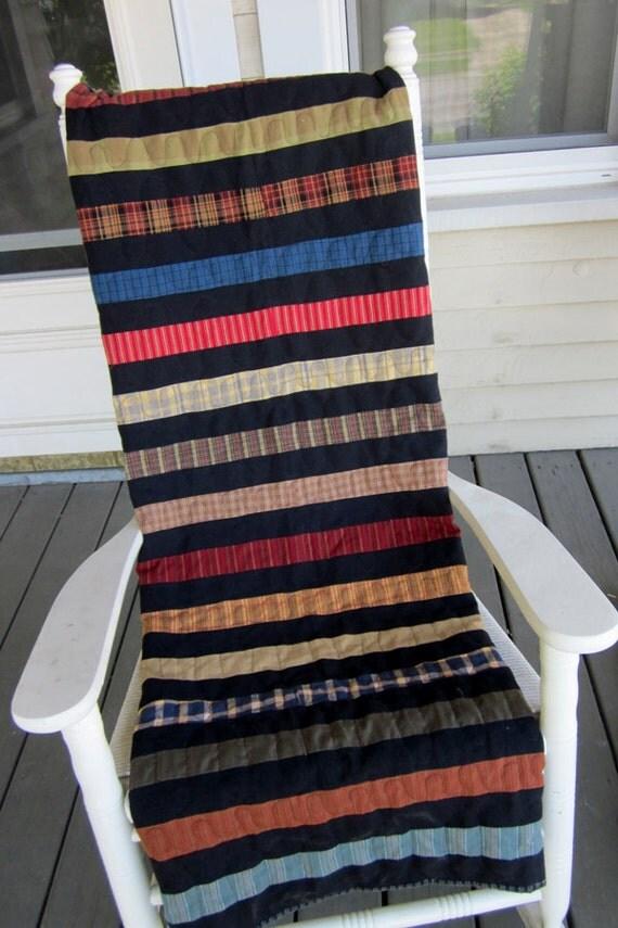 SALE...SALE...SALE...Homespun Stripe Quilt