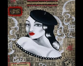 Paris  Beatnik Print