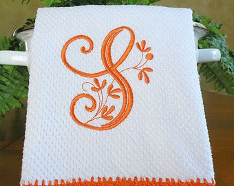 Unique embroidered towel related items Etsy