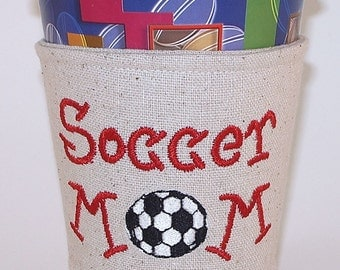 Cup Cosy, Cosies, Soccer Mom Java Jacket, Cup Snuggler