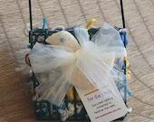 bridal favor bird nesting kit