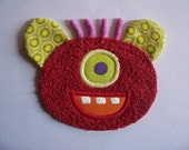 One Eye Red Monster Patch
