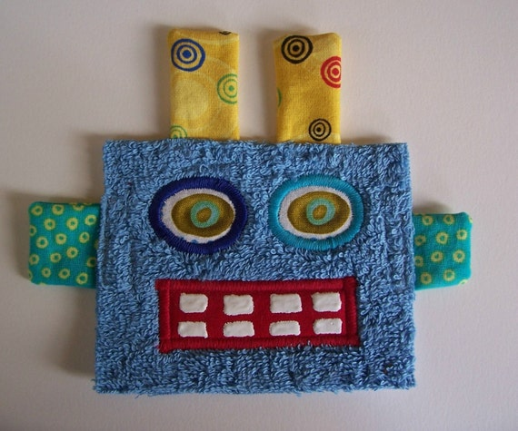 Kooky Eye Blue Robot Guy