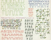 Backstitch Alphabets 1985