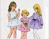 70s Child Dress - Size 4 - Simplicity 6819