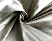 Pale Gold-Tinted Taupe 100 Percent Silk Fat Quarter