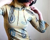 Hey Jude - iheartfink Handmade Hand Printed Tunic Top