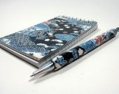 YUZEN WASHI NotePad and Assorted Pen Set plus Gift