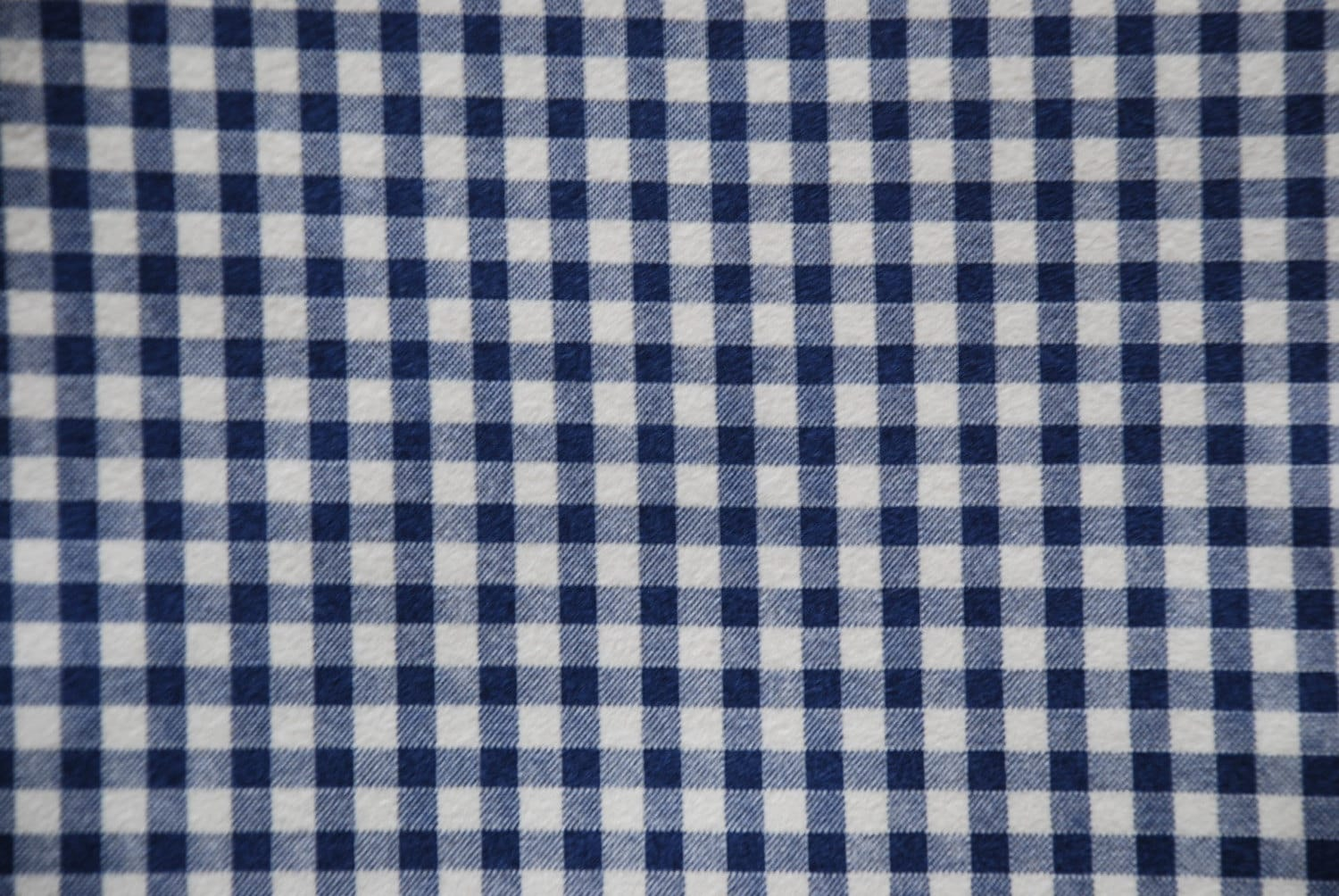 Blue gingham flannel japanese fabric for Gingham fabric
