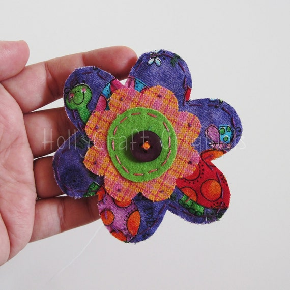 Clearance,Fabric Flower Applique, Scrapbooking Embellishment, Flower Applique,Scrapbook Flowers, Flower embellishment, Fabric Flower, Patch