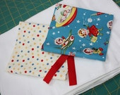 DIY Burp Cloth Kit- materials to make it yourself