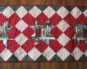 2  Cabin Table Runner