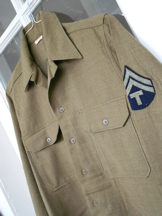 Vintage 1942 ARMY Military Set - Shirt and Pants - Near Mint condition