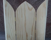 Large hinged triptych 12 inches