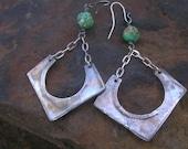 SEDONA  - Turquoise, Sterling Earrings